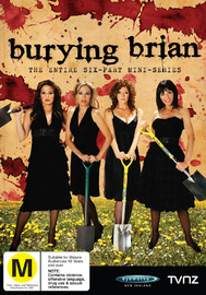 Burying Brian - Series 1 on DVD