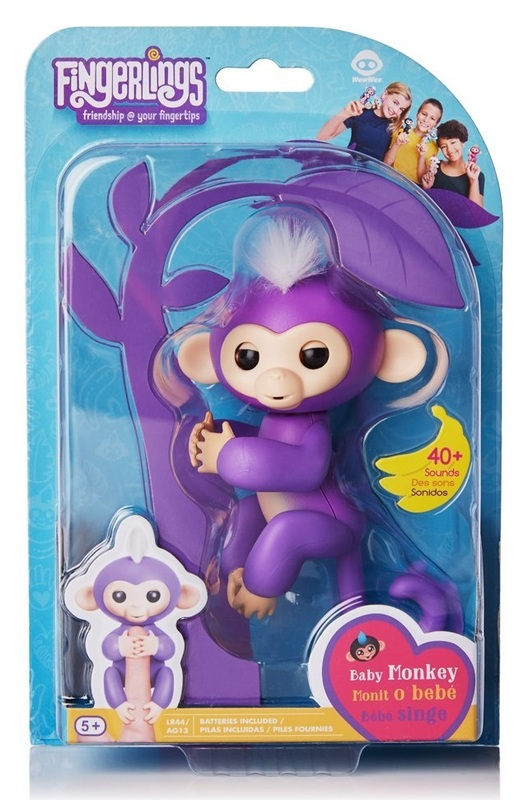 Fingerlings: Interactive Baby Monkey - Mia