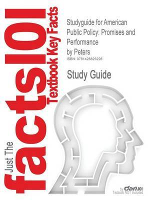 American Public Policy: Promises and Performance by Peters image