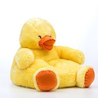 Children's Stuffed Animal Armchair - Duck