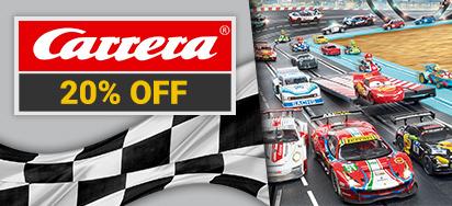 20% off Carrera!