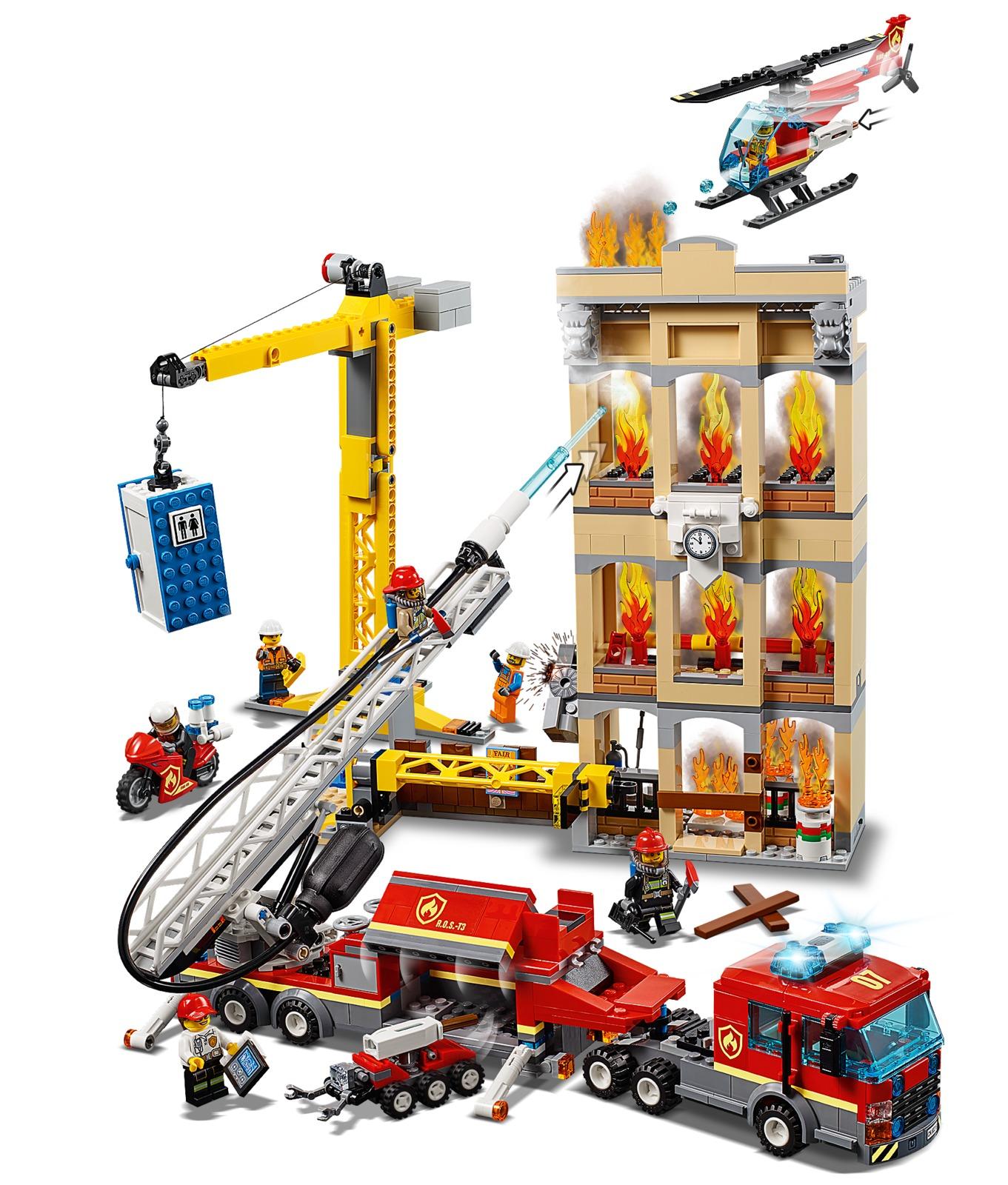 LEGO City: Downtown Fire Brigade (60216) image