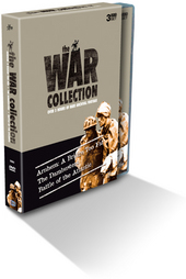 War Collection, The Vol. 1: Arnhem A Bridge Too Far, The Dambusters, Battle Of The Atlantic (3 Disc) on DVD