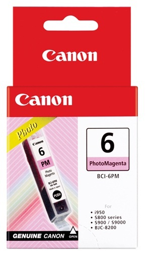 Canon Ink Cartridge Photo BCI-6PM Magenta image