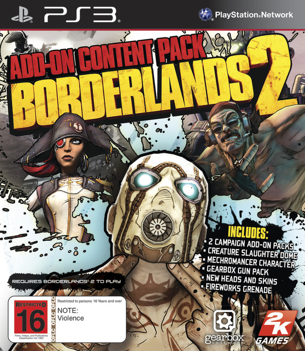 Borderlands 2 Add-on Content Pack | PS3 | Buy Now | at Mighty Ape NZ