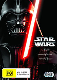Star Wars IV, V, VI (Original Trilogy) on DVD