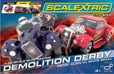 Scalextric Quick Build Demolition Derby 1/32 Slot Car Set