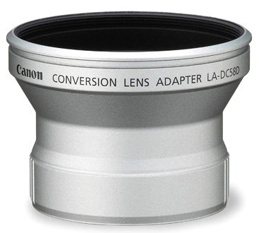 Canon LADC58D Lens adaptor for wide & tele  converters image