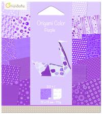 Origami Paper 120x120 - Purple Swan