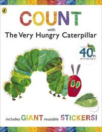 Count with the Very Hungry Caterpillar (Sticker Book) by Eric Carle