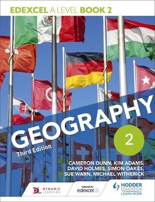 Edexcel A level Geography Book 2 Third Edition by Cameron Dunn image