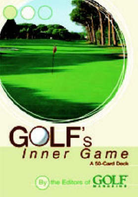 "Golf's Inner Game Cards by ""Golf Magazine"""