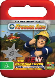 Fireman Sam - The New Hero Next Door on DVD