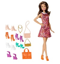 Barbie - Teresa Doll with Shoes Playset
