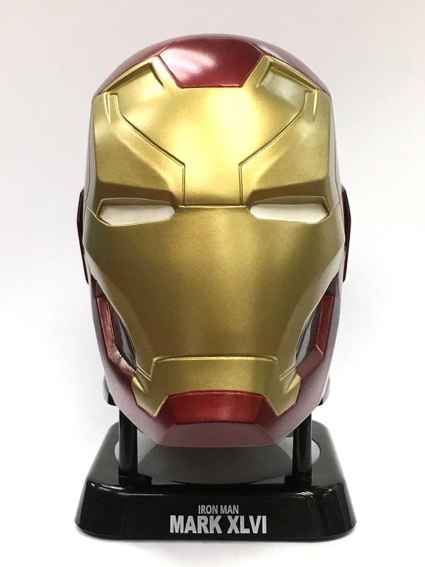 Marvel Iron Man Mark 46 Helmet Mini Bluetooth Speaker V20 At
