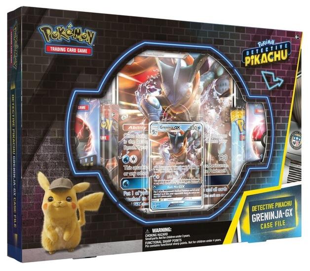 Pokemon TCG: Detective Pikachu - GX Case File (Greninja)