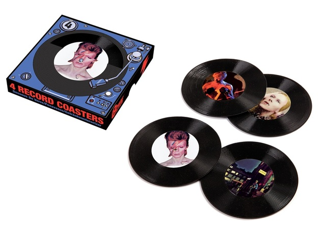 David Bowie: 45 Record - Coaster Set (Set of 4)