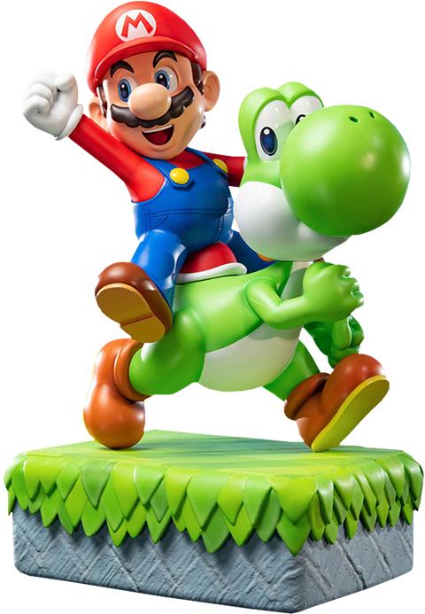 """Super Mario: Mario & Yoshi - 19"""" Masterpiece Statue"""