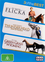 My Friend Flicka / Thunderhead / Green Grass Of Wyoming - 3 Of The Best (3 Disc Set) on DVD