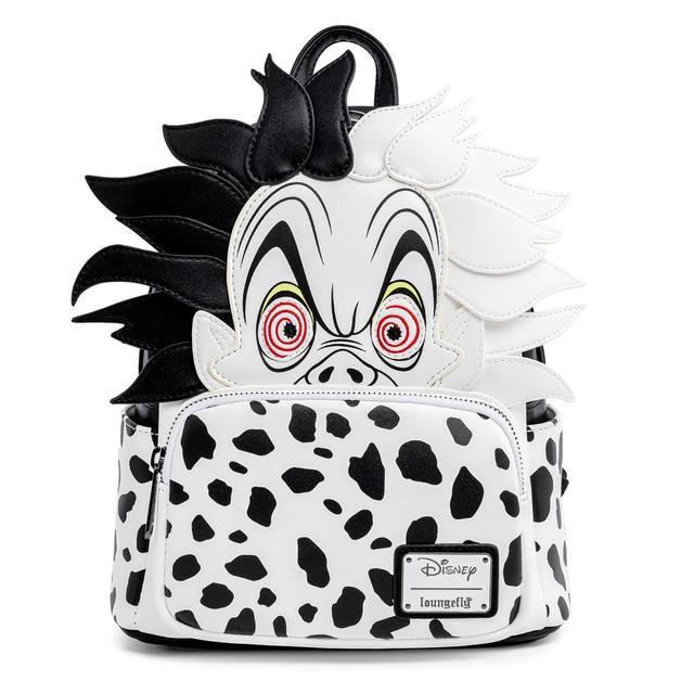 Loungefly: 101 Dalmatians - Cruella de Vil Spots Mini Backpack