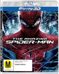 The Amazing Spider-Man on Blu-ray, 3D Blu-ray