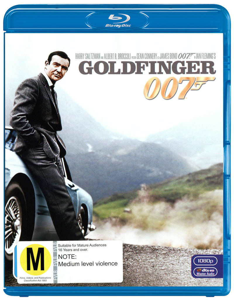 Goldfinger (2012 Version) on Blu-ray image