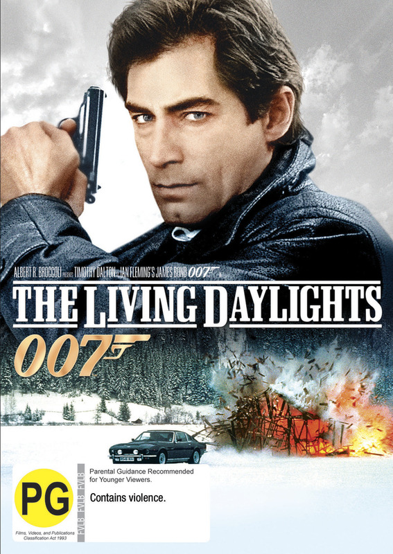 The Living Daylights (2012 Version) on DVD