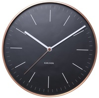 Karlsson Minimal Wall Clock - Black