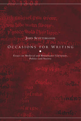 Occasions for Writing by John Scattergood