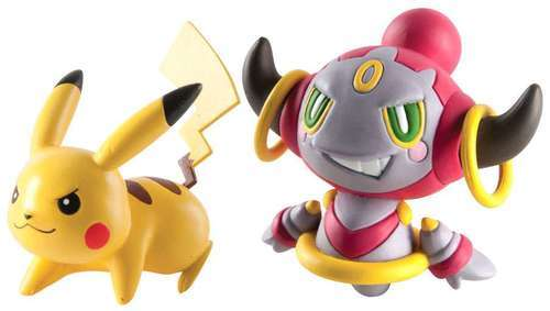 Pokémon: Action Pose Pikachu vs. Hoopa - Figure 2-Pack image