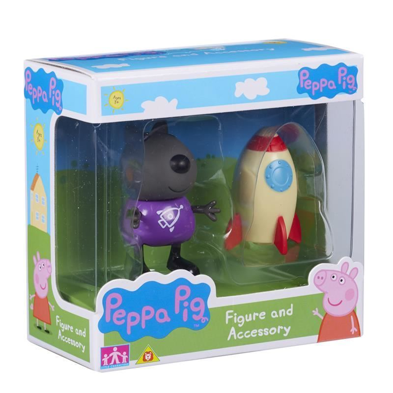Peppa Pig: Figure and Accessory Pack - Danny Dog & Rocket image