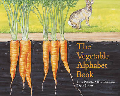 The Vegetable Alphabet Book by Jerry Pallotta image