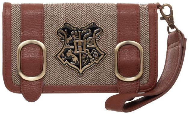 Harry Potter Satchel Wallet With Side Pocket - Hogwarts