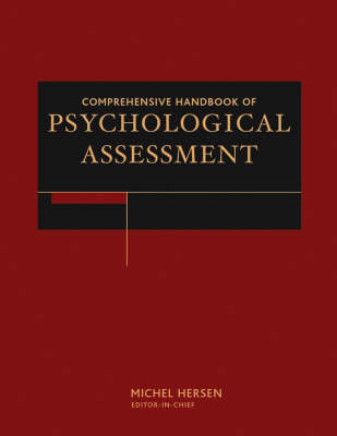 Comprehensive Handbook of Psychological Assessment, 4 Volume Set image