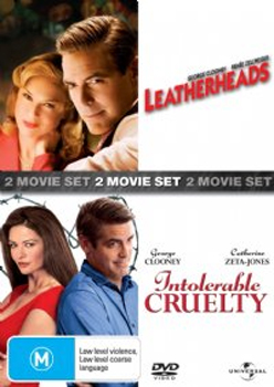 Leatherheads / Intolerable Cruelty (2 Disc Set) on DVD image