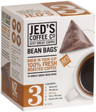 Jed's Coffee Co: 3 Bean Bags Coffee