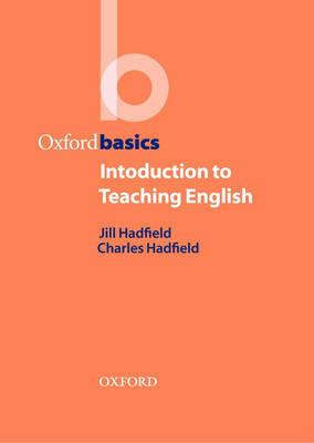 Introduction to Teaching English by Jill Hadfield image