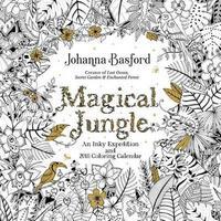 Magical Jungle 2018 Wall Calendar by Johanna Basford