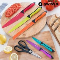 Swiss Q: High Quality Stainless Steel - Knife Set (6 Pieces)