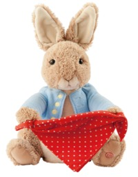 Peter Rabbit - Peek-A-Boo Plush