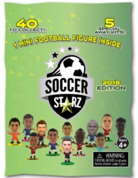 Soccerstarz: 2018 Edition - Collectable Mini-Figure (Blind Bag)