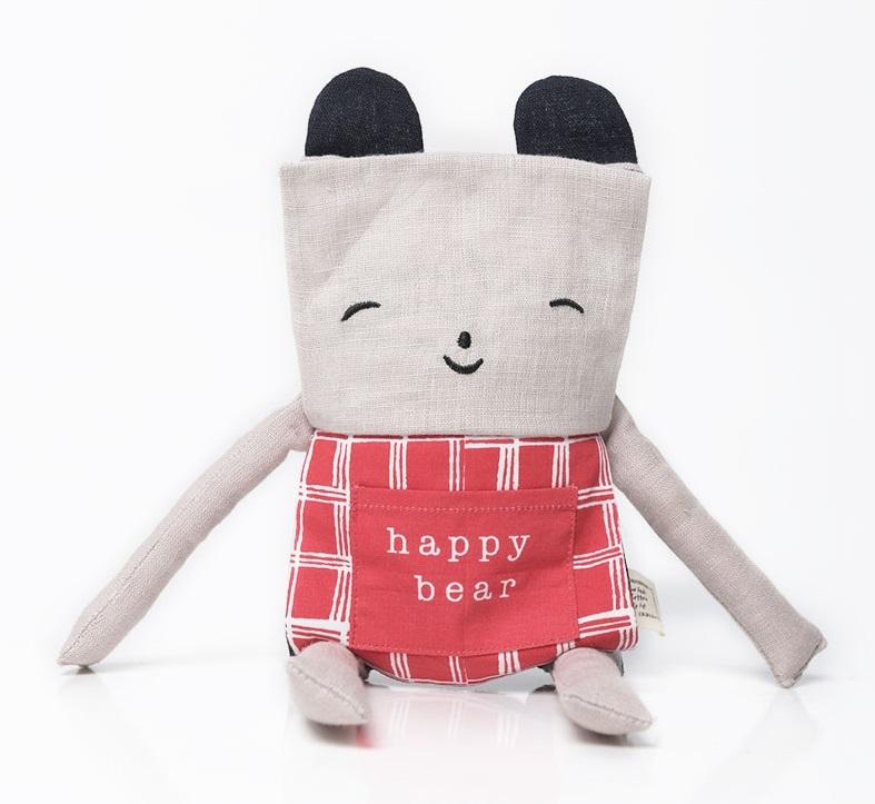 Wee Gallery: Flippy Friends - Bear image