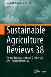 Sustainable Agriculture Reviews 38