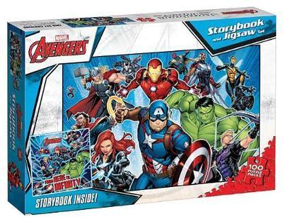 Avengers Book & Puzzle