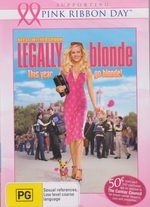 Legally Blonde (Pink Ribbon Day) on DVD