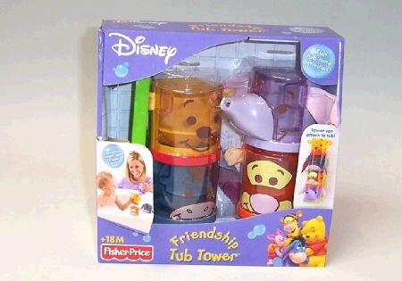 Winnie the Pooh Friendship Tub Tower