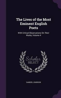 The Lives of the Most Eminent English Poets by Samuel Johnson image