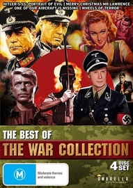 The Best Of The War Collection (4 Disc Set) on DVD