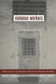 Violence Workers by Martha K. Huggins image