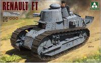 Takom 1/16 Renault FT-17 3in1 Model Kit